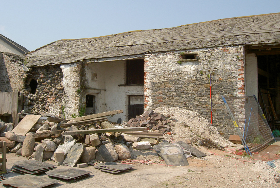 bow windows farm rampside south west end of the combined barn and shippon